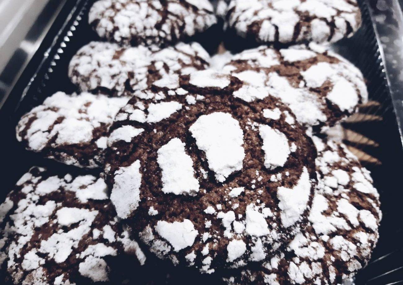 «Треснутое» печенье Брауни